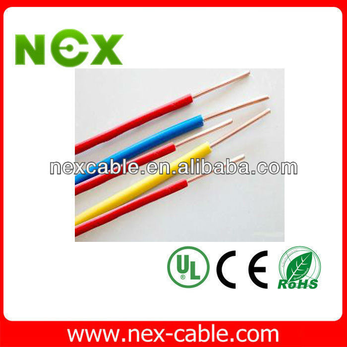 12awg 18 awg 20 awg cable thhn cable copper wire shenzhen copper cable price per meter house wiring