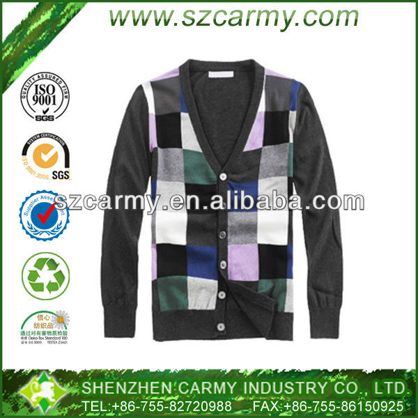 Newest Stylish Men's Brand 65% Cotton 35% Polyester Super Quality Trendy Sweater