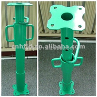 Q235 Adjustable Height Steel Props/Shoring Jack Post/Pipe Support For Concrete Formwork System