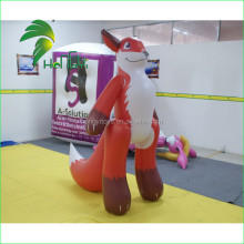 Best Selling High Quality Standing Inflatable Fox Toy / PVC Inflatable Cartoon
