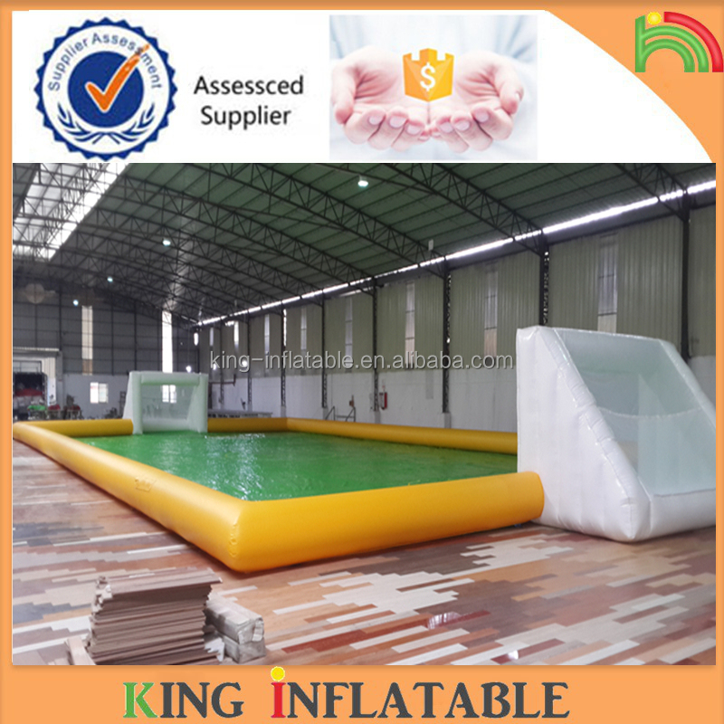 Custom Inflatable Soccer Football Court Field King Inflatable