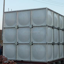 Large Assembled FRP SMC water tank for water teatment
