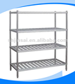 Supermarket heavy duty food metal display rack