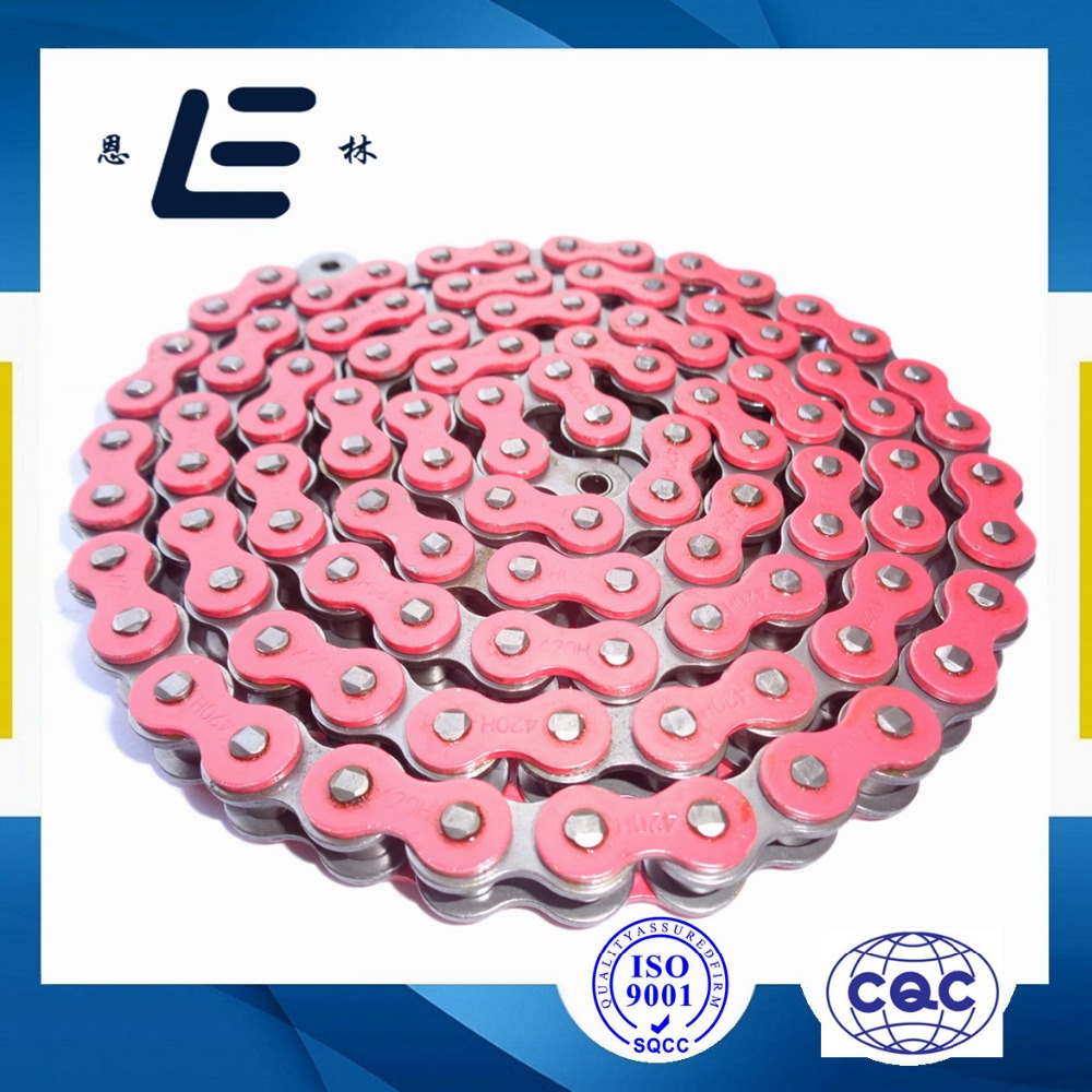 Color O-ring motorcycle chains, X-ring chain