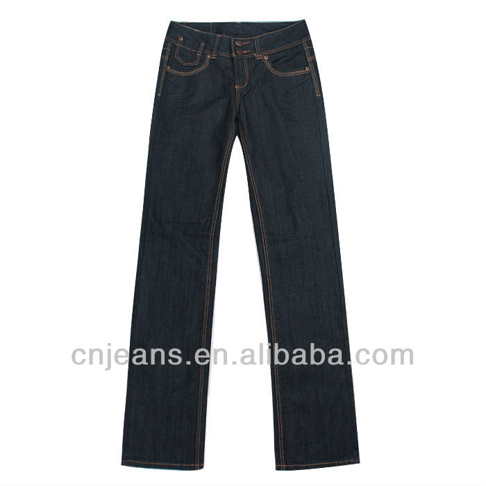GZY fresh bulk sell jeans pants wholesale fashion style jeans for girls