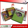 new products hot sale cover spiral notebook