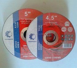 ultra thin phenolic resin bond abrasive cutting wheels cut off wheels