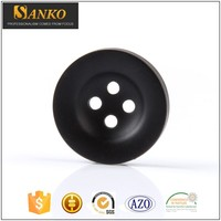SK-D1401 Four Hole Garment Coat Big Ring Plastic Resin Sewing Button