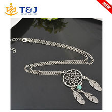2015 New Design Trendy Dream Pendant Chain Necklace for Women Jewelry