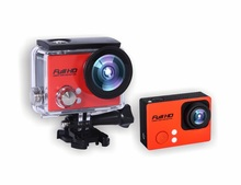 HD 720P ultra slim design waterproof extreme sports action helmet camera with 2.0'' TFT display