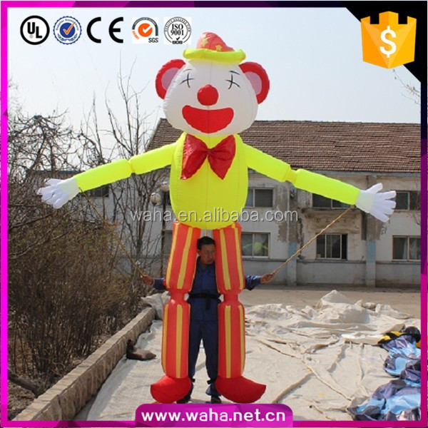 professional and cheap inflatable walking moving cartoon character costume