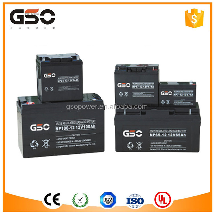12V 65Ah Sealed Lead acid Battery VRLA /Gel Battery/Rechargeable Solar Battery For Solar System