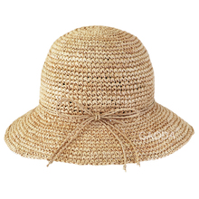 Ladies floppy raffia beach hat