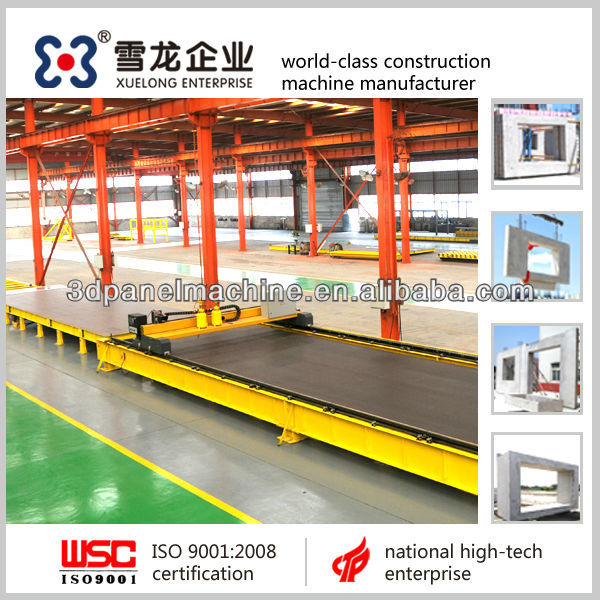 Hot sell !! Best quality precast concrete pallets, tilting station, compecting, flying bucket, plotter, curing chamber for sell