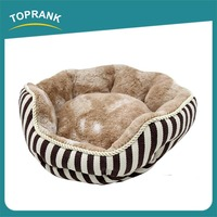 China Supplier Winter Round large dog pet beds