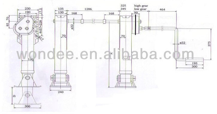 Container Chassis Landing Gear : Container chassis landing gear buy