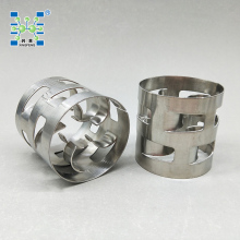 SS304 SS316 Metal Random Packing Pall Rings from Pingxiang