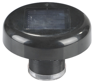 Solar roof Light with Motion Sensor for Mobile Toilet