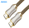 with ethernet Pure copper HDMI cable male to male braided cotton sleeve cable hdmi for PS4 HDTV XBOX PS3000