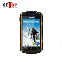 4.0 Inch IPS Screen MTK6572W Android rugged cellphones discovery V8