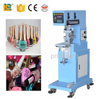 lc printing machine factory nail polish bottle printing machine pad printer