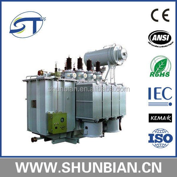 38.5/0.4 kv1250 kva onan on load tap changer transformer electric transformer supply from china