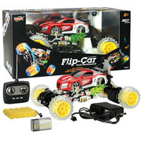 New 4ch flip stunt car remote control toy with battery