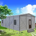 low cost prefab cabin house for sale