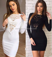 Z52961B Autumn Long Sleeves Sexy Night Club Party Dresses New Fashion Ladies Sexy Bodycon Dress