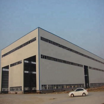 Prefabricated steel frame structure modern warehouse