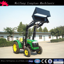 China Made High Quality 35hp 4x4 4WD Farm Tractor Front end Loader 4 in 1 Bucket Lower Price