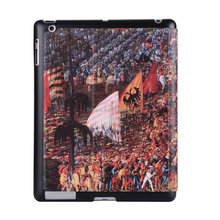 for ipad case PU Leather Flip Case Cover ,for ipad 2 3 4 Case with Standing function
