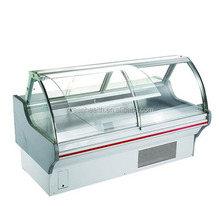Hot selling in North America fresh meat showcases / meat refrigeration equipment / refrigerated food display counters