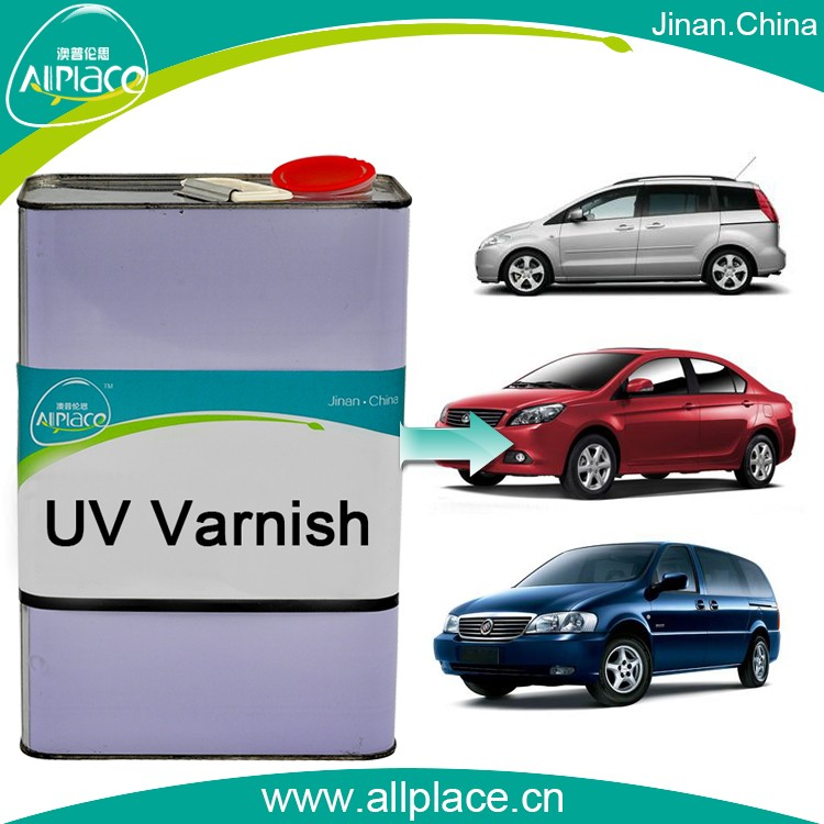 ultraviolet varnish for car body uv coating for car body repair UV clear paint for car