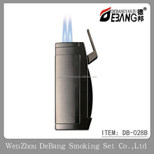 Wholesale Metal Windproof Butane Gas Torch Jet Promotional Cigarette Lighter for Festival