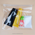 clear vinyl zip lock custom printed pvc waterproof plastic zipper bag
