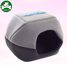 2017 New design cheap enclosed cube pet bed for cat or small dog