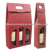 wholesale luxury special paper wine packaging gift boxes made in China