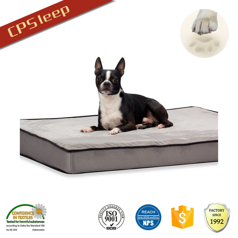 New Arrival Factory Beautiful Waterproof Square luxury pet bed