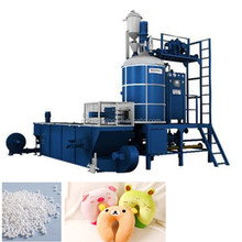 continuous operation full automatic eps foam pre-expanded machine