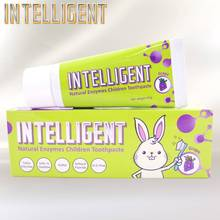 New Intelligent Natural Grape flavor Kids Anti-cavity Natural Toothpaste for kids