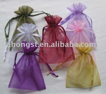wholesale organza gift bag