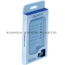 Factory price clear plastic packaging box for cell phone case