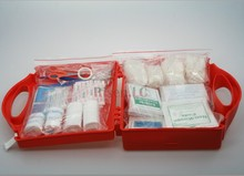 Plastic Medical First Aid Kits Box / Case For Workplace ,Home ,Car