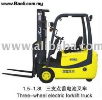 THREE-WHEEL ELECTRIC Forklift
