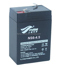 6V4.5AH Rechargeable Battery for Electronic Scale Battery for Rolling Shutter Door