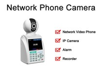 Network wireless & wired hidden phone ip camera
