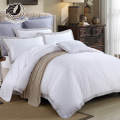 Fancy Quick Dry Beige/White Polyester Poly Fiber Bed Linen for Hotel