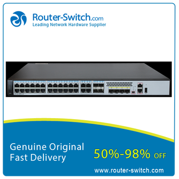 Huawei Quidway S5700 Series Switch 28 port Gigabit Ethernet 4 port SFP+ Layer 3 Network Switch S5720-36C-PWR-EI-DC