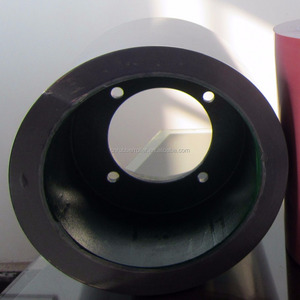 Rice Hull Rubber Roller,10inch Rice Huller Rubber Rolls,High Wear-resistant Rubber Roller